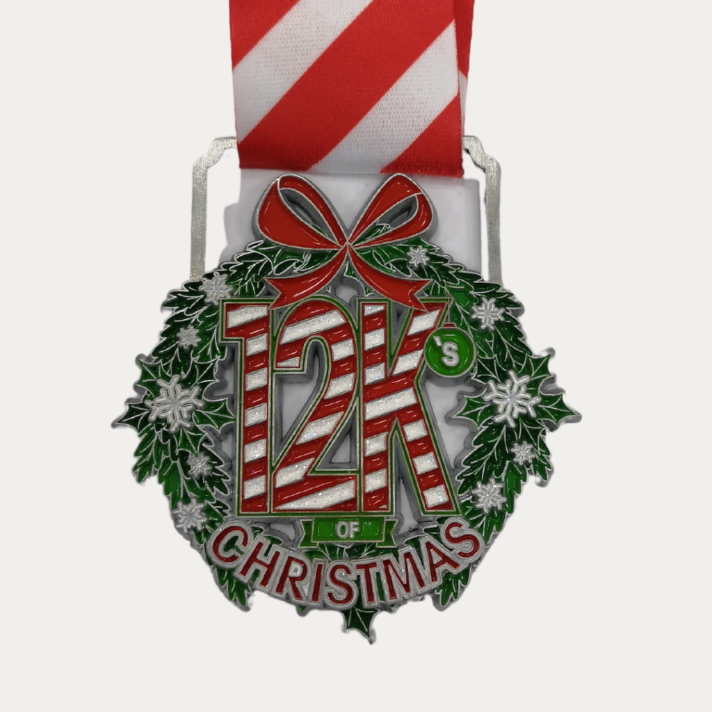 ZOOMA 12Ks of Christmas fun run - holiday challenge