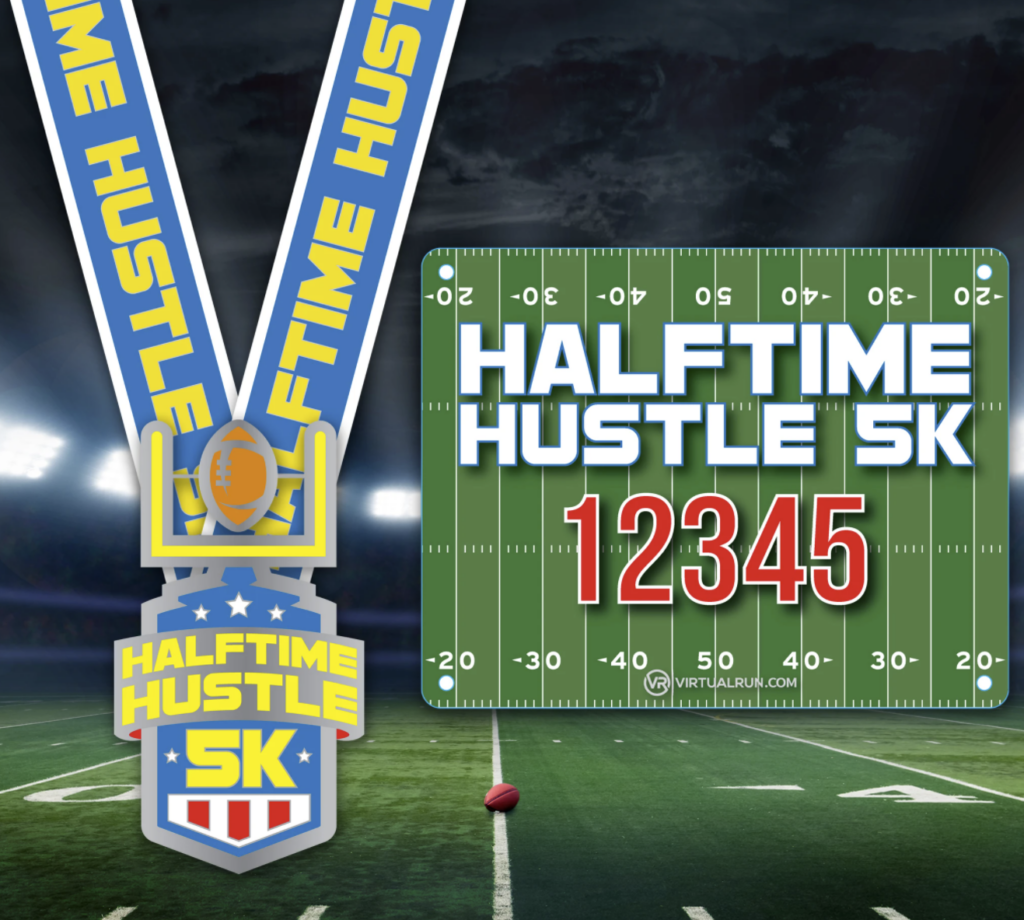 Super Bowl Fun Run - Halftime Hustle 5K virtual race