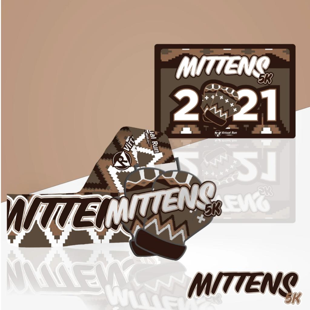 Bernie's mittens - Mittens 5K - virtual race
