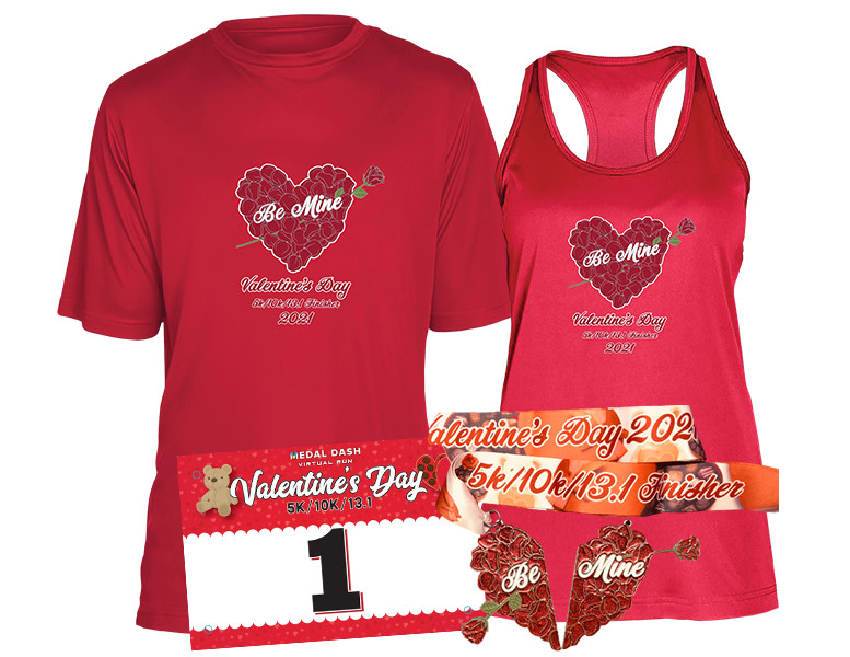 Valentine's Day Medal Dash - Virtual Race