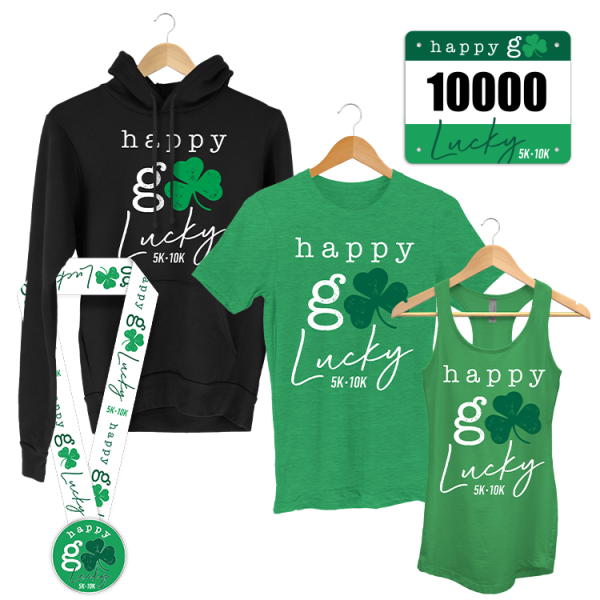 Happy Go Lucky - St Patrick's Day - virtual race