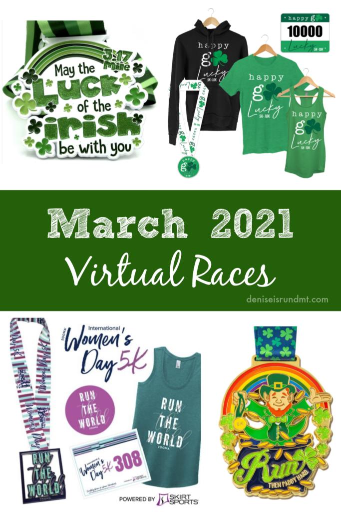 March 2021 Virtual Races - Run DMT