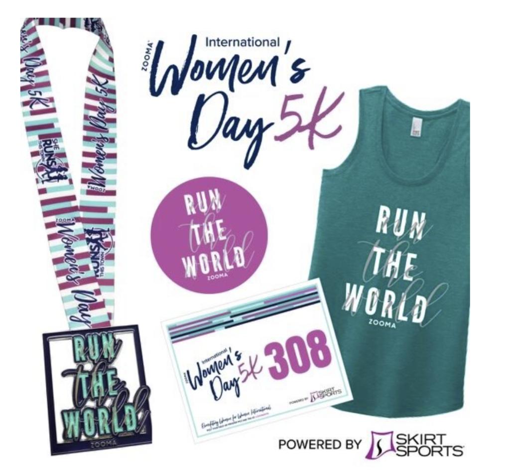 ZOOMA Women's Day 5K - virtual race