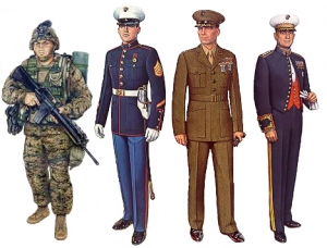 Military Uniform Dry Cleaning Examples