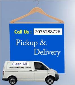 Clean All Pickup Delivery Dry Clean Van