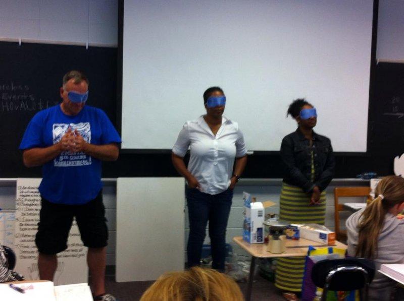 UWGA blindfold