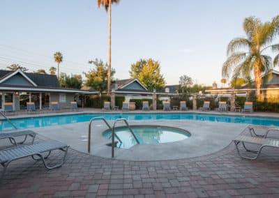 Resort type apartments
