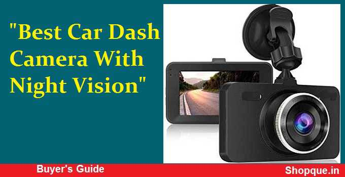 HD Dash Cam With Night Vision In India