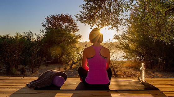 Victoria Falls River Lodge Becomes Popular Yoga Safari Destination
