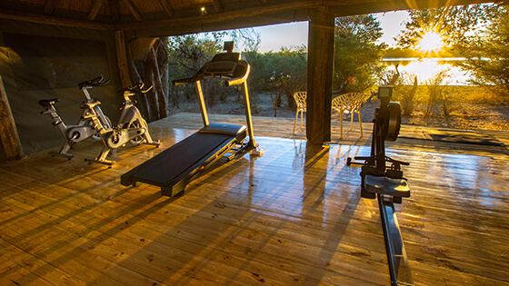 Gym with the best view in Africa