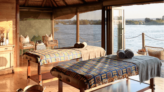 Experience the luxury of Africa at our Toa Spa