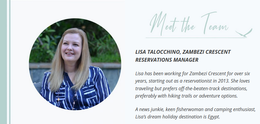 Meet the Team – Lisa Talocchino