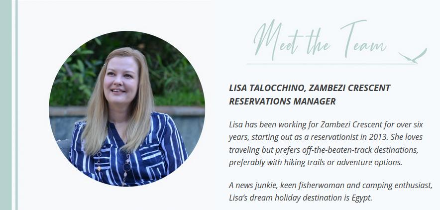 Meet the Team – Lisa Talocchino