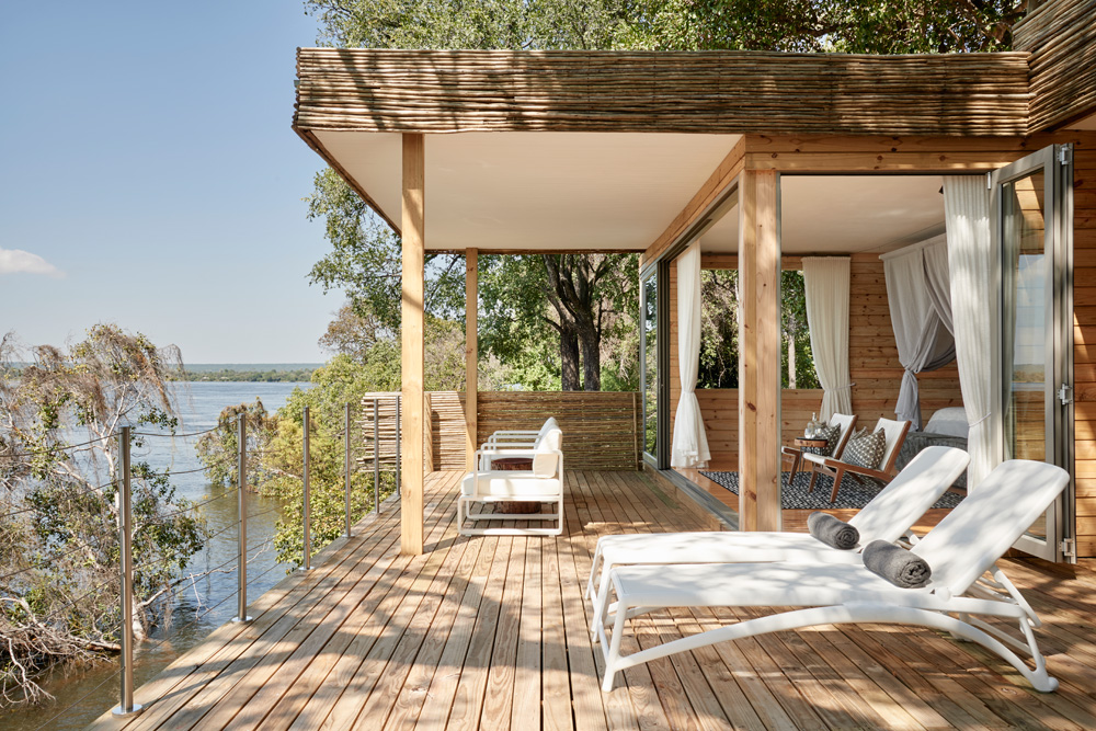 Starbed Treehouse - Deck