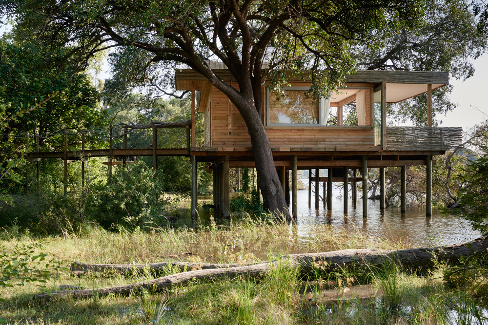 Starbed Treehouse - Exterior