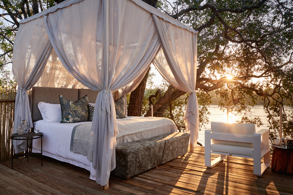 Starbed Treehouse - Rooftop bed