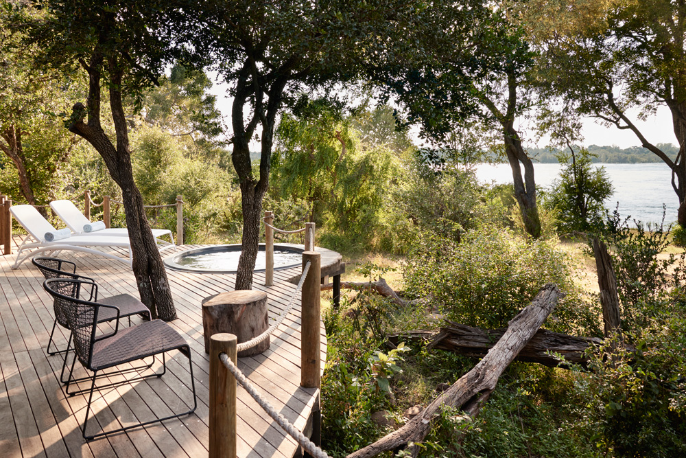 Luxury Tented Suite - private deck