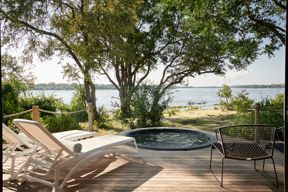 Luxury Tented Suite - View from deck