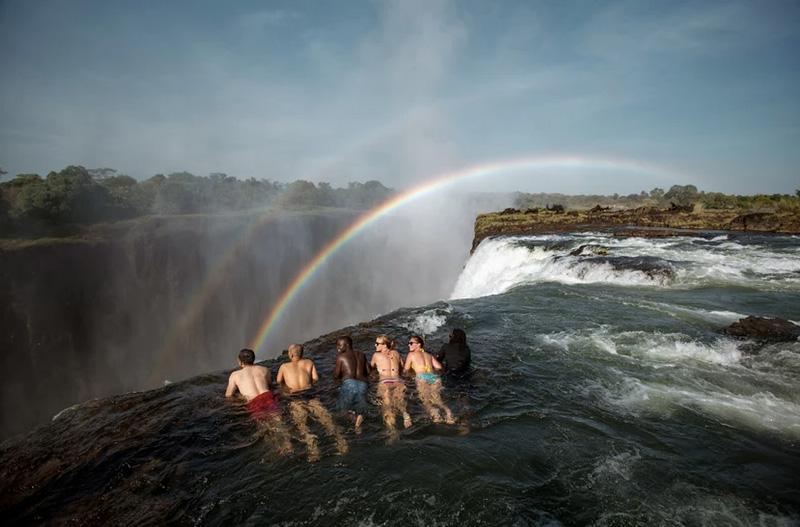 Livingstone Island (Devil's Pool)