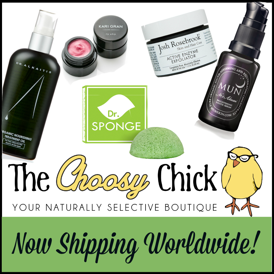 The Choosy Chick, green beauty boutique, online shop