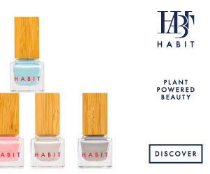 Habit Cosmetics, nail polish, makeup, green beauty
