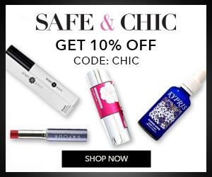 Online green beauty shop, skincare, makeup