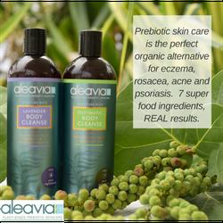 Aleavia Skincare, body wash, organic, natural