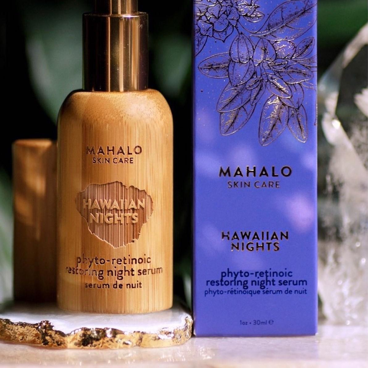 Mahalo Skincare, Hawaiian, green beauty, organic