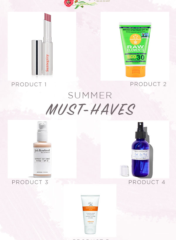 Monthly Must-Haves: 5 Products You Need This Summer