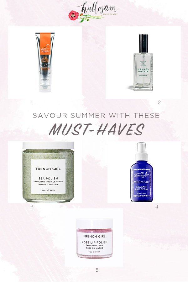 Five Summer Products Year Around