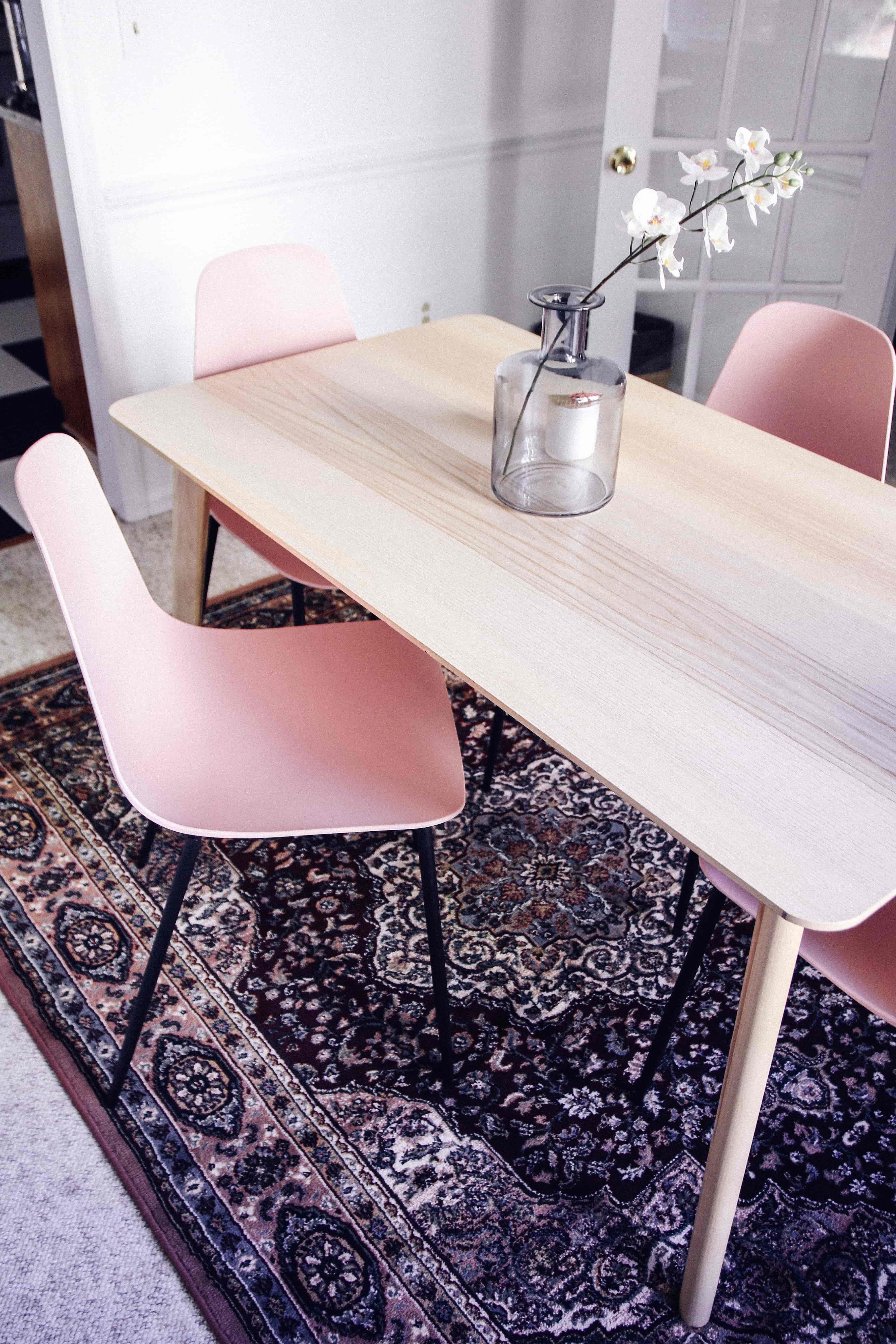 Cheer Up With These Pink Article Chairs (And A Gray Bench!)
