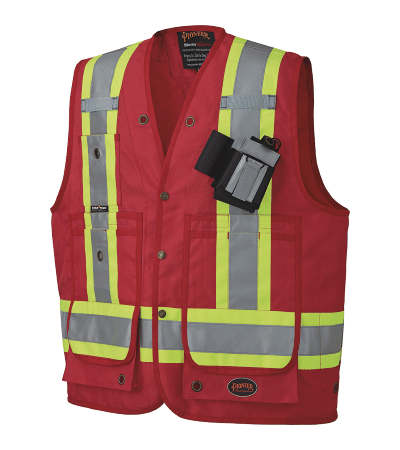 Pio 693 – Pioneer 600D CSA Surveyor's Supervisor's Vest – Prod Img