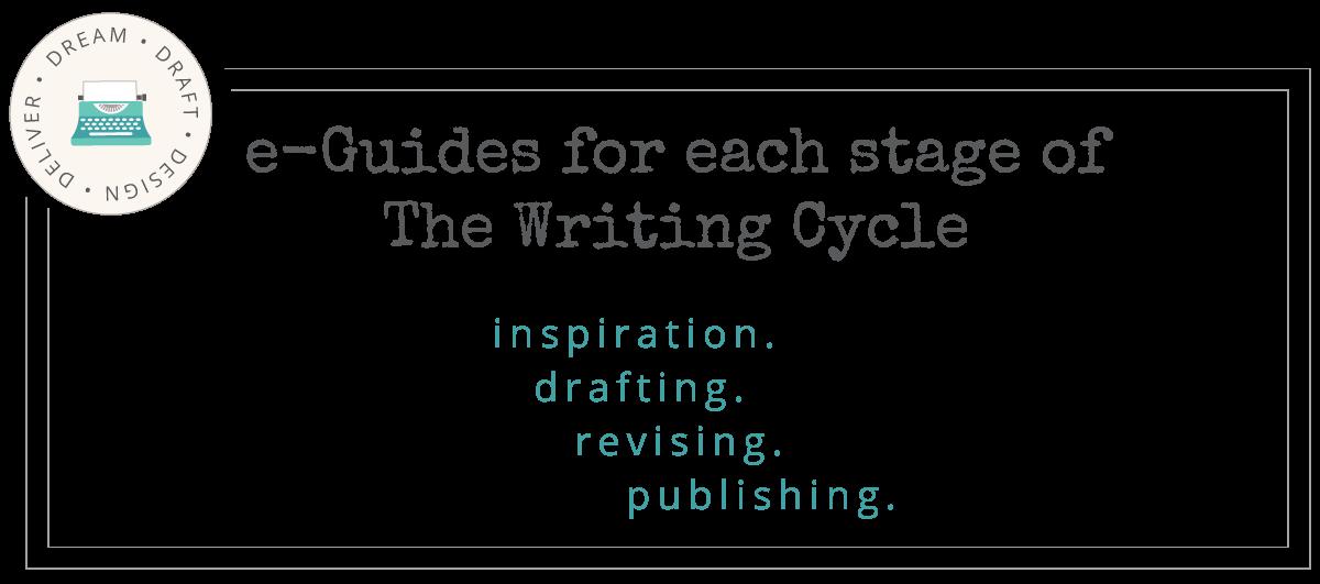 writing process e-Guides drafting revising publishing
