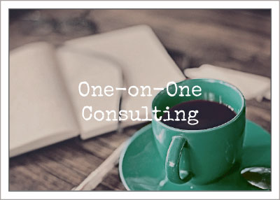 One-On-One Consulting for writers