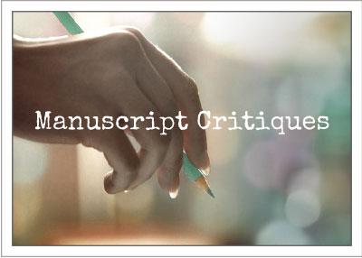 Manuscript Critiques and Editing