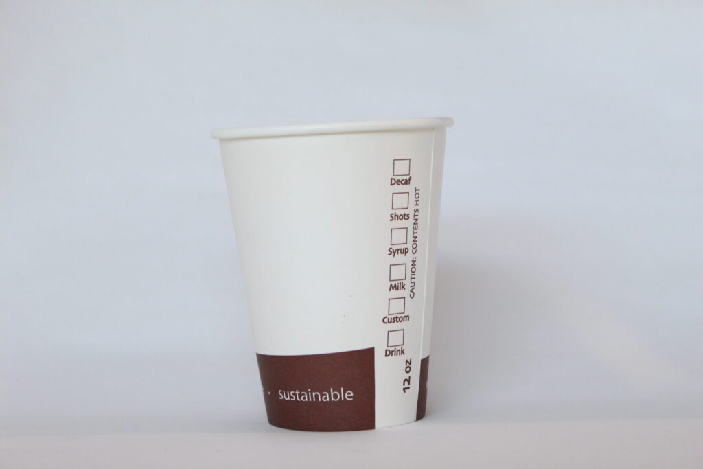 compostable cups and lids