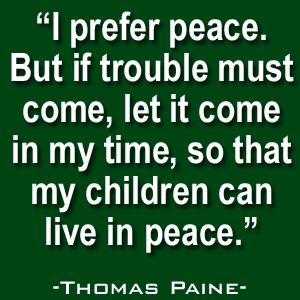 Thomas Paine Quote