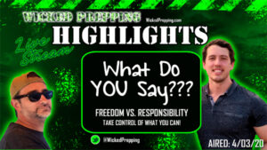Covid-19: Balancing Freedom and Responsibility