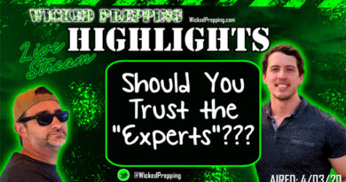 Covid-19: Do NOT Trust the Experts?