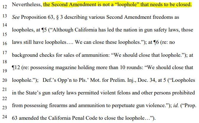 Defense of Second Amendment: Rhode v. Becerra (Docket Number: 3:18-cv-00802-BEN-JLB) | Order on Motion for Preliminary Injunction--Document #60 | Date Filed: 4/23/2020
