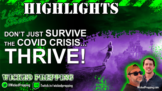 Don't Just Survive the Covid-19 Crisis...Thrive In It!