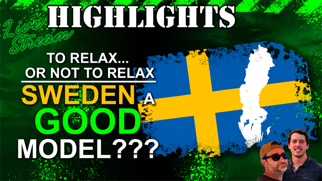 Is Sweden Really a Good Model to Follow for Easing Covid-19 Restrictions?
