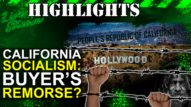 California Socialism: Buyers Remorse???