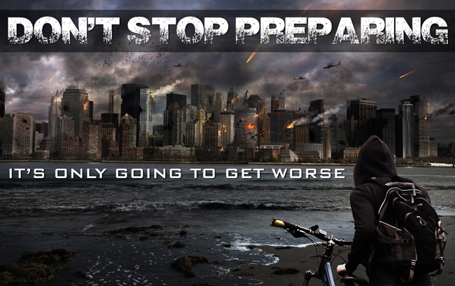 Dystopia Warning: Don't Stop Prepping