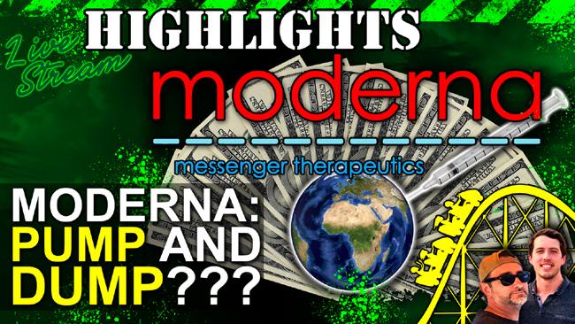 Moderna Covid-19 Vaccine: Another Pharma Pump & Dump?