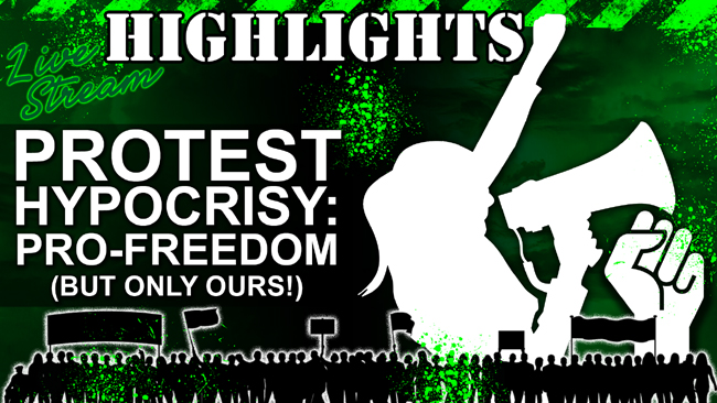 Covid-19 Protests: Freedom for All???