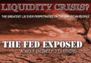 Fed Bails Out Rich & Fleeces the Middle Class: A Bond Liquidity Crisis?