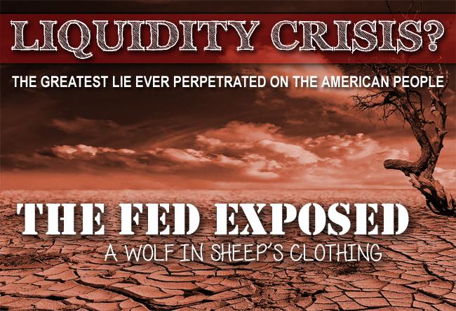 Fed Bails Out Rich & Fleeces the Middle Class: A Bond Liquidity Crisis?