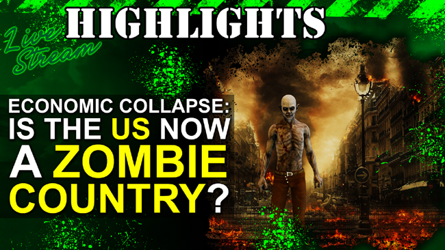 Economic Collapse: US Is a Zombie Country???
