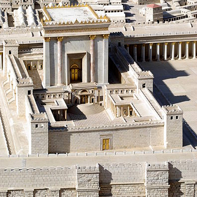 Model of Jewish Second Temple